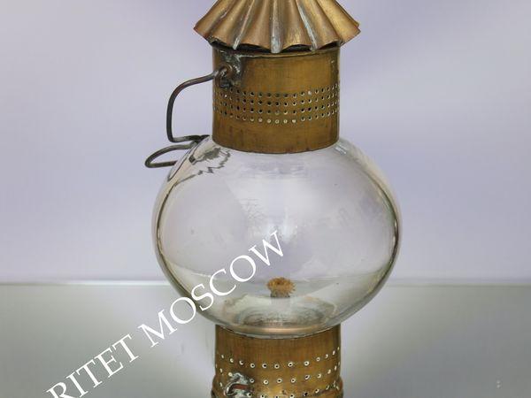 Лампа антикварная фонарь латунь Англия 37 | Ярмарка Мастеров - ручная работа, handmade