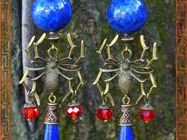 Мой любимый камень--Лазурит | Ярмарка Мастеров - ручная работа, handmade