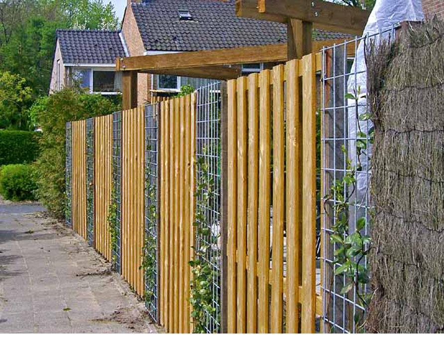 Как сделать забор на даче фото 11