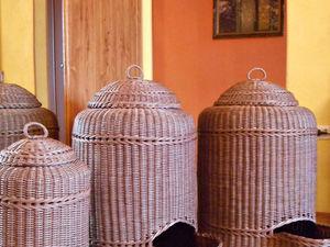 Плетеные корзины короба для хранения овощей. Ярмарка Мастеров - ручная работа, handmade.