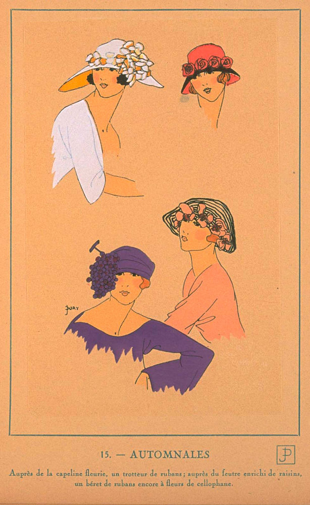 Ах, какие шляпки! Шляпная мода 1922 года по версии французского журнала «Les chapeaux du Tres parisien». Часть 2, фото № 17
