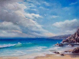 Нова картина Море. Ярмарка Мастеров - ручная работа, handmade.