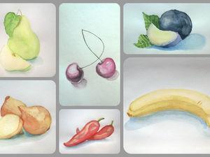 Овощи, фрукты. Оптом — дешевле!. Ярмарка Мастеров - ручная работа, handmade.