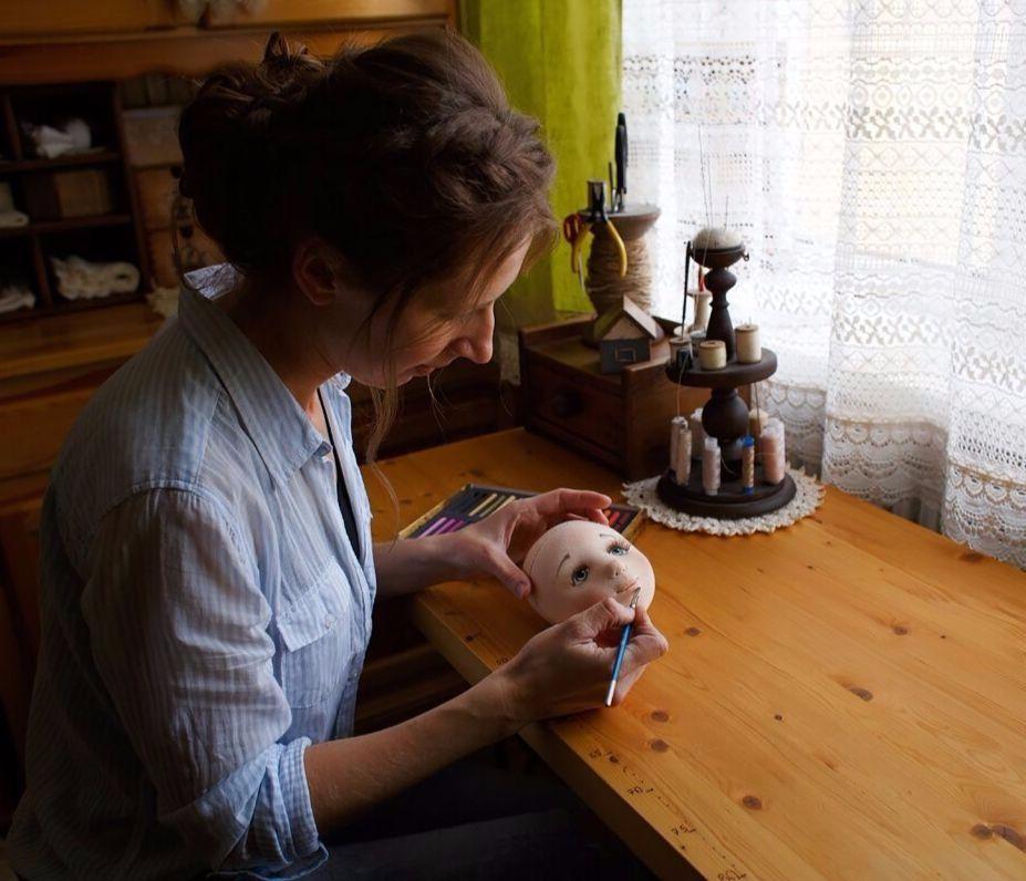 текстильная кукла, вдохновение