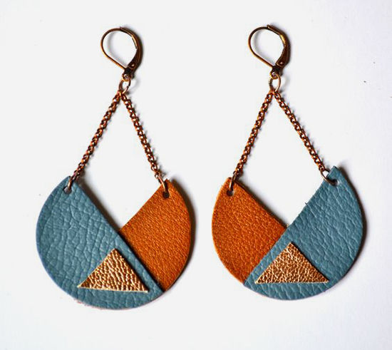 30 Simple Ideas for Design of Handmade Leather Jewelry, фото № 9