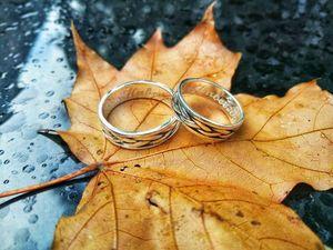 Обручальные и парные кольца из серебра по приятной цене. Ярмарка Мастеров - ручная работа, handmade.