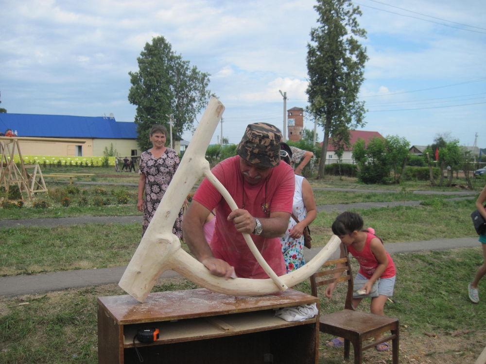 Об участии в международном фестивале деревянной скульптуры., фото № 19