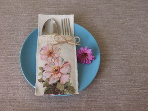 Мастерим простые кармашки для столовых приборов. Ярмарка Мастеров - ручная работа, handmade.