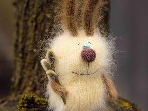 Весенний аукцион на Пасхальных кроличков   Ярмарка Мастеров - ручная работа, handmade