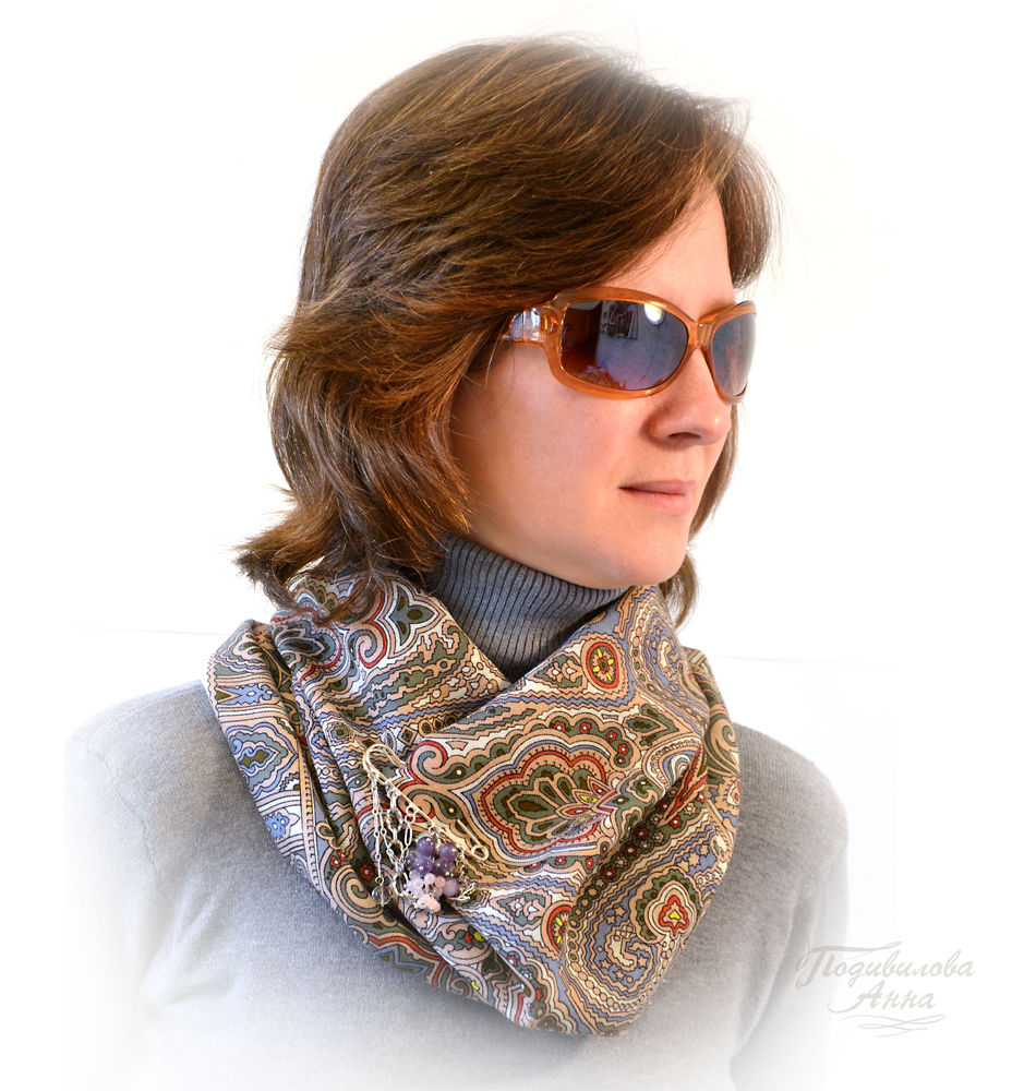 конкурс коллекций, снуд шарф труба хомут, подарок женщине