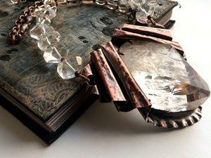 Колье Магический Кристалл, больше фото. Ярмарка Мастеров - ручная работа, handmade.
