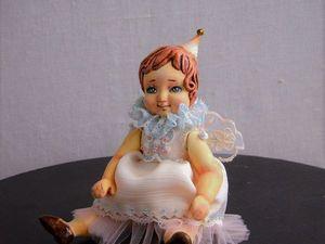 Амели. Авторская миниатюрная кукла.. Ярмарка Мастеров - ручная работа, handmade.
