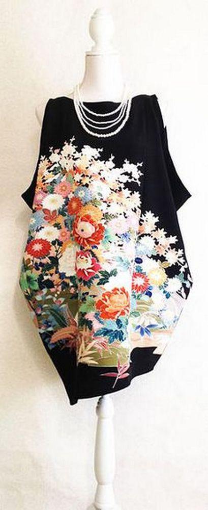 платье из кимоно
