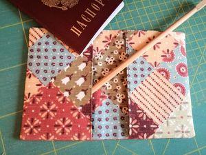 Мастер-класс по шитью самой простой обложки для паспорта. Ярмарка Мастеров - ручная работа, handmade.