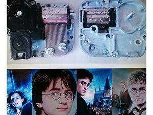 """Музыкальный механизм """"Гарри Поттер"""". Ярмарка Мастеров - ручная работа, handmade."""