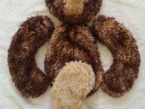 МК Окрашивание меха для мишки. Ярмарка Мастеров - ручная работа, handmade.