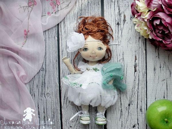 Жасмин. Новая текстильная куколка с цветочным именем. | Ярмарка Мастеров - ручная работа, handmade