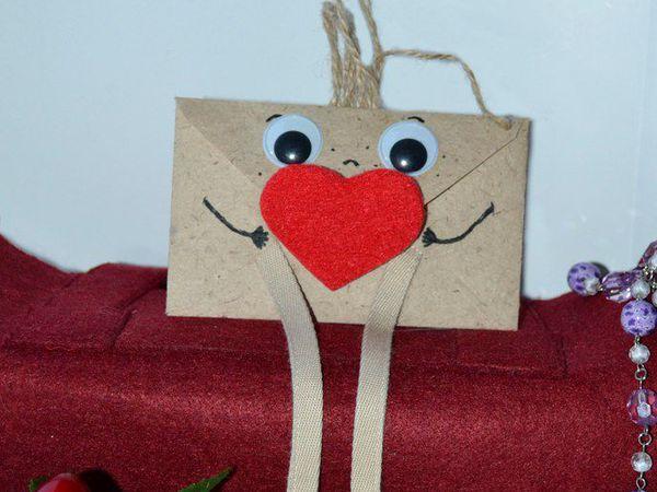 Создаем волшебный конверт для валентинки | Ярмарка Мастеров - ручная работа, handmade