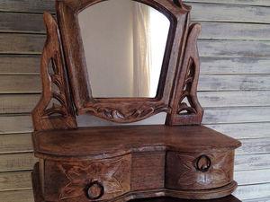 Настольное зеркало. Интерьеры махараджей.. Ярмарка Мастеров - ручная работа, handmade.