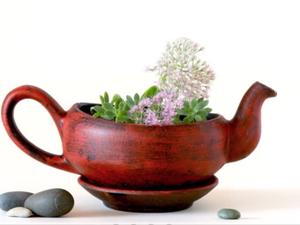 Вторая жизнь чайников и чашек: 34 идеи, как дать шанс любимой посуде. Ярмарка Мастеров - ручная работа, handmade.