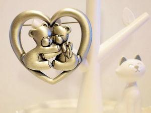 Винтажная коллекция украшений с мишутками! Часть3. Ярмарка Мастеров - ручная работа, handmade.