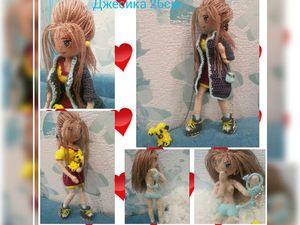 МК Каркасная кукла Джесика | Ярмарка Мастеров - ручная работа, handmade