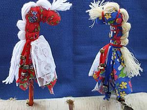 Creating a Folk Toy: Horse the Konyashka on a Stick. Livemaster - handmade
