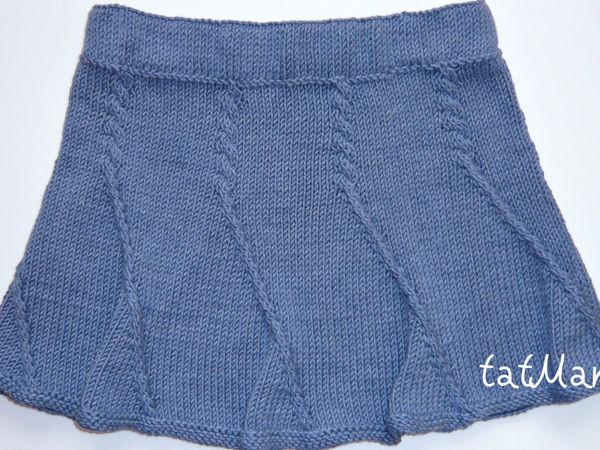 Отчет о тестировании вязаной юбки 8-ми клинки | Ярмарка Мастеров - ручная работа, handmade