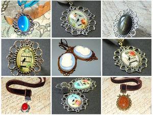 Аукцион с блиц-ценами на украшения с камеями. Ярмарка Мастеров - ручная работа, handmade.