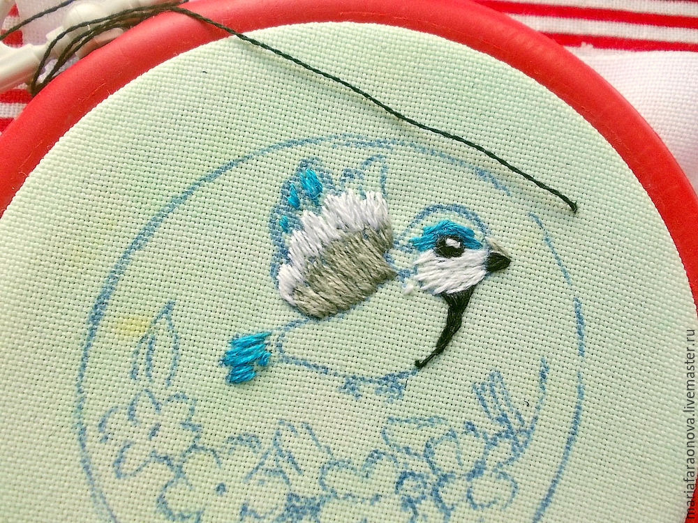 a lesson in embroidery