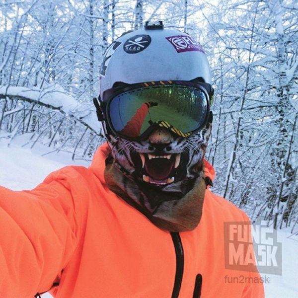 Картинки масок лыжников