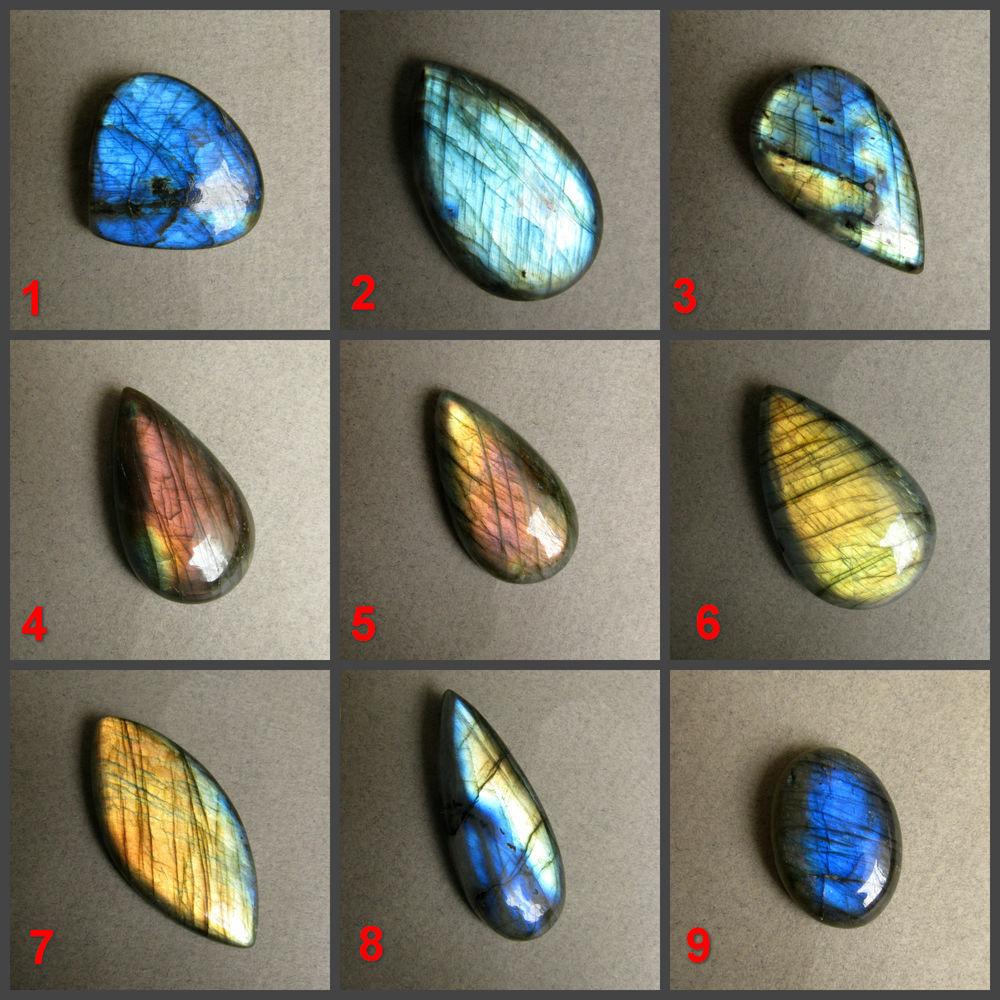 лабрадорит кабошон, камни для украшений