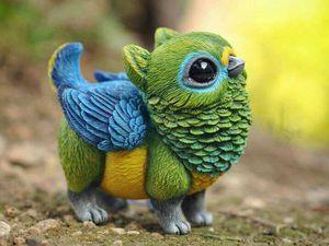 Сказочные птицы от испанского скульптора Lisa Toms. Ярмарка Мастеров - ручная работа, handmade.