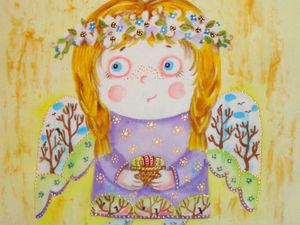 Весенний ангел. Ярмарка Мастеров - ручная работа, handmade.