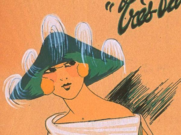 Ах, какие шляпки! Шляпная мода 1922 года по версии французского журнала «Les chapeaux du Tres parisien». Часть 2 | Ярмарка Мастеров - ручная работа, handmade