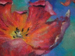 Мк Ренаты Краус по шерстяной акварели в Москве 21 и 22 апреля | Ярмарка Мастеров - ручная работа, handmade