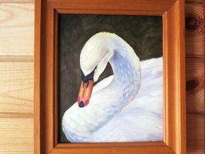 Спасибо Маргарите за прекрасного лебедя!. Ярмарка Мастеров - ручная работа, handmade.
