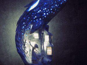 Удивительные ночники Аси Черноивановой: 25 невероятных работ. Ярмарка Мастеров - ручная работа, handmade.