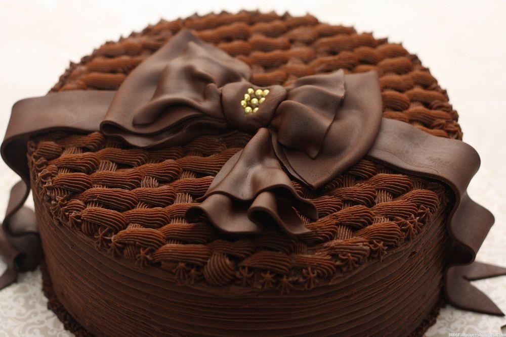 Картинки шоколадного торта на день рождения девочке