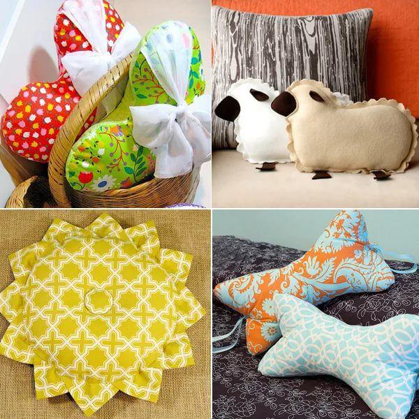 Как сделать подушки в домашних условиях 563