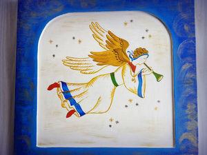 Рождественский вертеп.Теперь небесно-синий!. Ярмарка Мастеров - ручная работа, handmade.