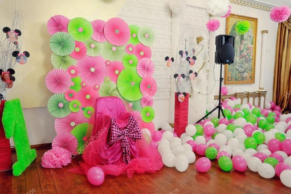 Оформление своими руками комнату на день рождения