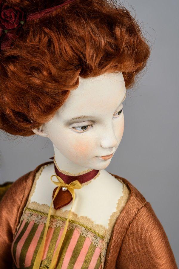 кукла, карты, коллекционная кукла