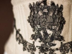 Акция месяца на корсет-пояс с антикварным кружевом!. Ярмарка Мастеров - ручная работа, handmade.