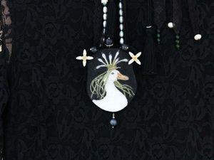Луковая королева. Кулон-реплика.. Ярмарка Мастеров - ручная работа, handmade.
