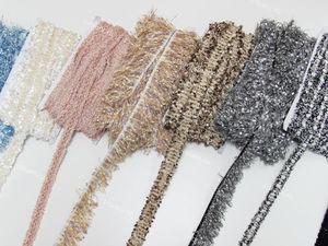 НОВИНКА! Тесьма Шанель! Все в цвет наших тканей Шанель!. Ярмарка Мастеров - ручная работа, handmade.