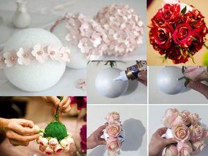 Поступление товара: пенопластовые шары. Ярмарка Мастеров - ручная работа, handmade.