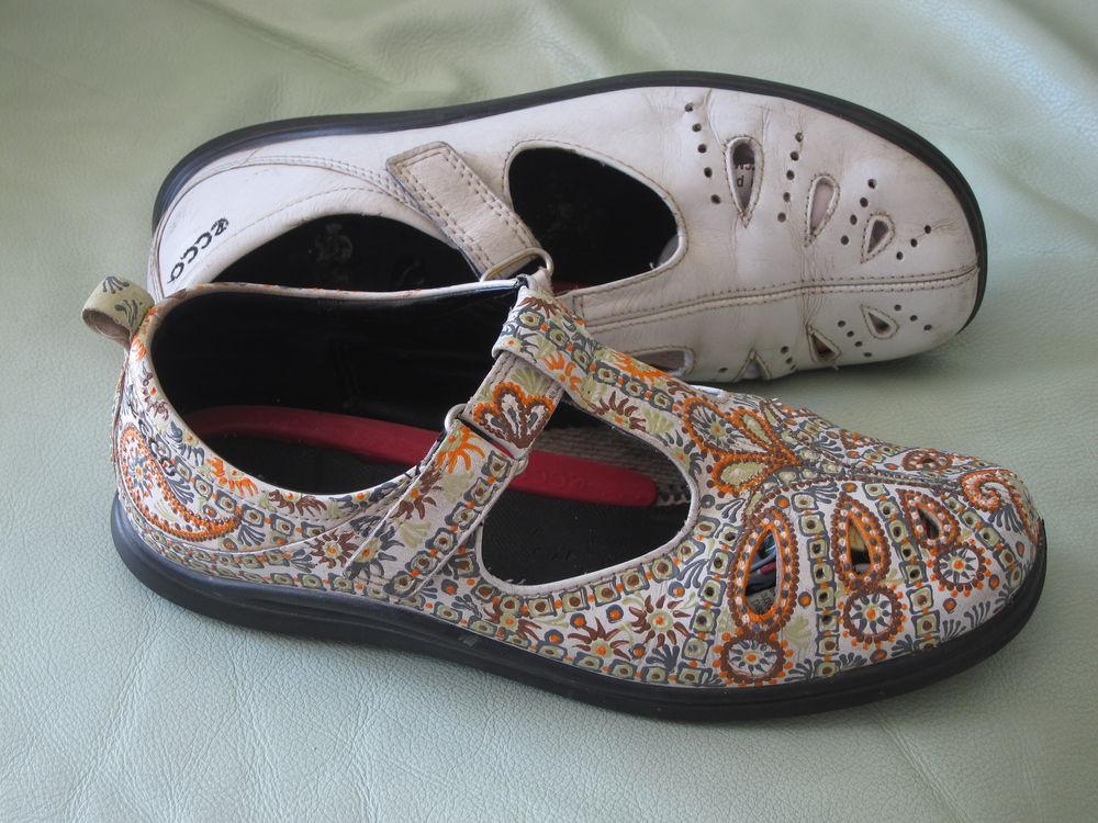 босоножки, декор обуви акрилом