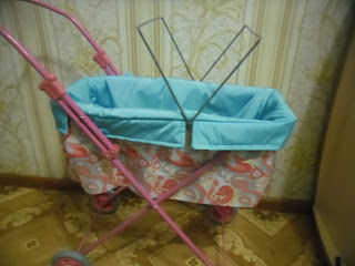 коляска для бэбибон