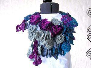Оригинальные шарфики  !!!!!. Ярмарка Мастеров - ручная работа, handmade.